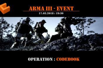 Operation: CODEBOOK Samstag 17.03.2018 -19:30 Uhr